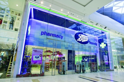 Boots most prominent UK pharmacy