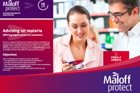 Advising on malaria