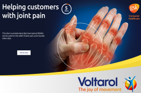 Helping customers with joint pain