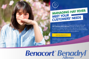 Managing hay fever: meet your customers' needs