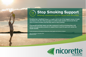 Stop Smoking Support: Helping customers quit for good with Nicorette