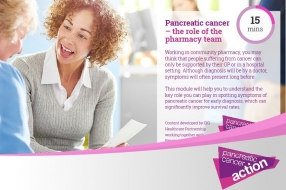 Pancreatic Cancer Action – the role of the pharmacy team